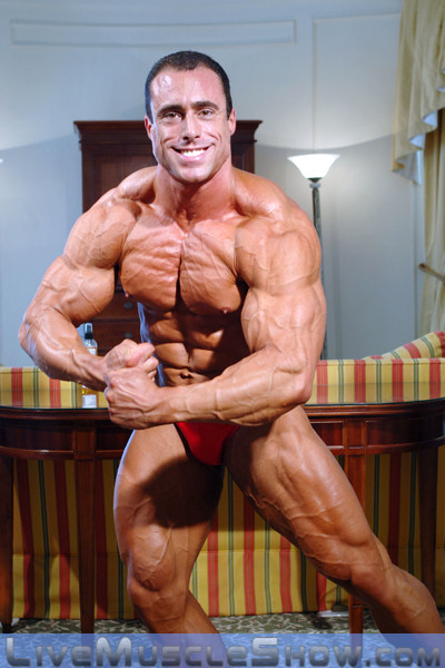 Naked Male Bodybuilder